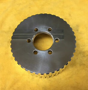 New 1 2 Pitch 41 Tooth Blower Supercharger Pulley Snout V Belt Chevy 671 471