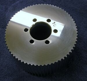 New 8mm 70 Tooth Blower Supercharger Pulley Nitro Hemi Gasser Chevy 671 Snout