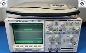 Agilent 54622d Mixed Signal Oscilloscope 100 Mhz 200 Msa s With Accessories use