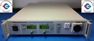 California Instruments 1251rp Ac Power Source 1250 Va 1 Phase used