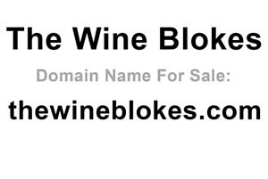 Wine Related Domain Name For Sale The Wine Blokes Thewineblokes com