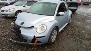 Rear View Mirror With Digital Clock Fits 06 10 Beetle 5787903
