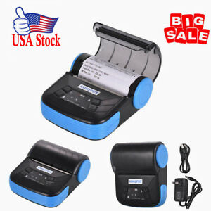 Usa Goojprt Mtp 3 Portable Bt Thermal Printer 80mm Receipt Printer Pos Printing