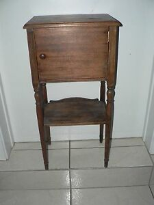Antique Vintage Phone Smoking Stand Table Arts Crafts Federal Style