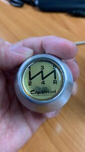 Top Secret Shift Knob 5mt Silver M10x1 25 For Nissan Skyline R32 R33 Gtr Rb26