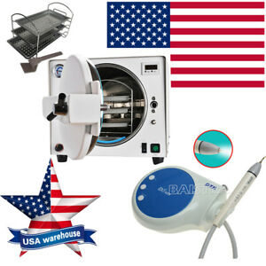 Dental Autoclave Steam Medical Sterilizer 18 L Woodpecker Dte Ultrasonic Scaler
