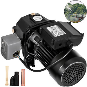 1 Hp Shallow Or Deep Well Jet Pump W Pressure Switch Homes Supply Water 164 Ft