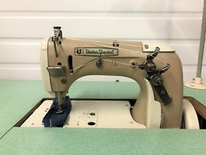 Union Special 53700a Chainstitch Walking Foot 110v Industrial Sewing Machine