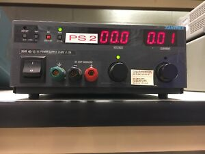 Xantrex Xhr40 15 600w Dc Benchtop Power Supply 40v 15a Variable Dc Output