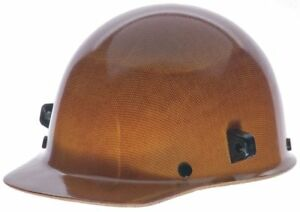 Msa Hard Cap With Welder s Lugs Natural Tan Hat Size 6 1 2 To 8 482002