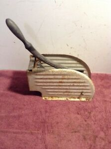 Vintage Heavy Duty Bloomfield French Fry Cutter