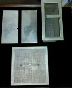 Hobart Am12 Am14 Dishwasher Scrap Basket Strainer Screen And Covers