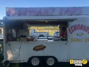 6 X 14 Food Concession Trailer For Sale In Indiana