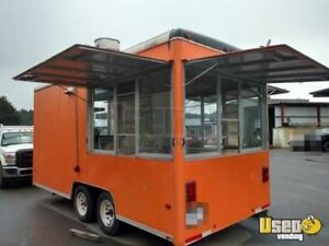 8 X 16 Food Concession Trailer For Sale In California