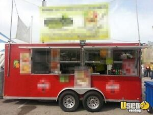 8 X 20 Food Concession Trailer For Sale In Missouri