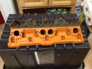 Mopar Small Block W2 Head 1 Only 48 Open Chamber