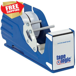 Aviditi Sl7326 Steel Multi Roll Table Top Tape Dispenser 2 Diameter Blue