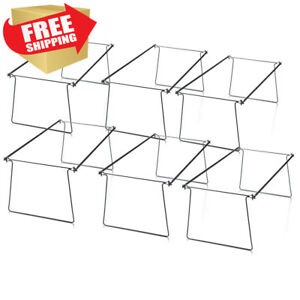 Officemate Oic Hanging File Folder Frames Legal Size Steel Box Of 6 Sets