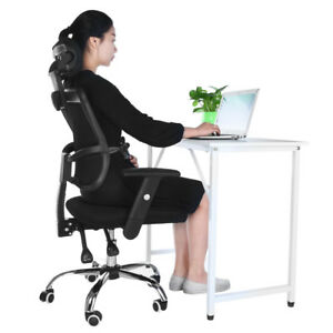 Ergonomic Mesh High Back Office Chair Computer Desk Executive With Headrest Bc