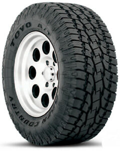 35x12 50r17 Toyo Open Country At Ii Lre set Of 4