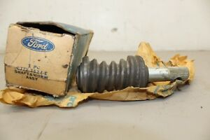 1967 1972 Ford Truck Worm Gear Shaft Assembly