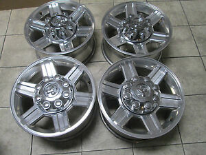 17 Dodge Ram 2500 3500 Polished Big Horn Laramie Factory Oem Wheels Rims Cp