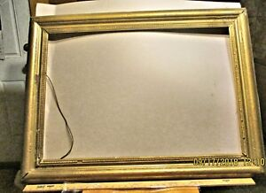 Large Antique Gold Leaf Picture Frame Early 1800 S 40 X 29