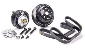 Jones Racing Products 1020 S Aluminum Chevy V8 Serpentine Pulley Kit
