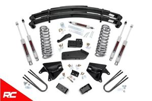 Rough Country 6 Lift Kit For Ford 80 96 Bronco F 150 4wd 80 83 F100 4wd