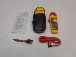 New Fluke 325 400a Ac dc True Rms Clamp Meter W Temp Cap And Freq 4152643 R6