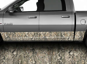 Rocker Panel Graphic Decal Wrap Kit Truck Sk Oblitleration Skull Camo Camouflage