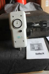 Chatillon Dial Push pull Gauge Dmg 500 Used