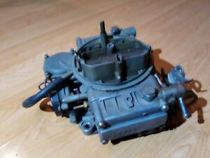Vintage Holley 4160 600 Cfm Carburetor Carb 1970 72 Sbc Chevy Small Block