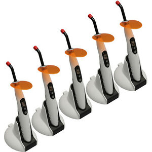5x Dental Cordless Led Curing Light Solidifying Lamp F Woodpecker Powerful M1te