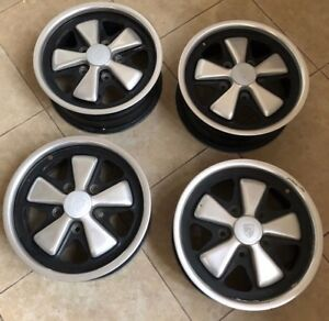 Matching Set Porsche 911 Fuchs Factory Wheels Original Oem 15x6 15 6x15