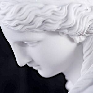 Marble Bust Purity Classical Sculpture Gift Art Ornament