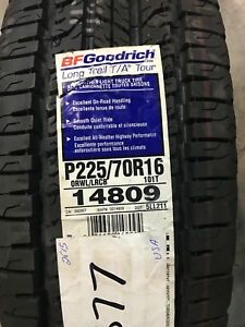 2 New 225 70 16 Bfgoodrich Long Trail T a Tour Tires