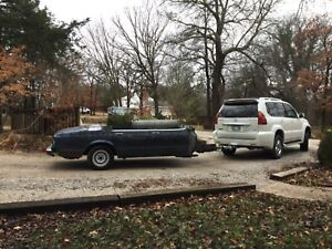 1985 Bmw E23 7 Series Bbq Trailer