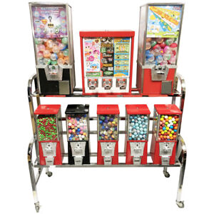 Eagle 10 Way Sticker And Tattoo Toy Bulk Vending Rack Machine