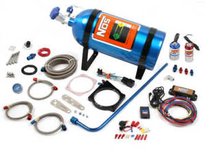 Nos Complete Wet Nitrous System For 90mm Or 92mm Gm Ls W 4 bolt Drive by wire Th