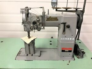 Adler 5 16 Split Needle Bar big Bob rev 110 Volt Industrial Sewing Machine