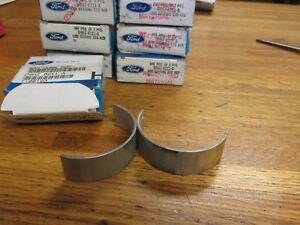 Nos New 1968 1997 Ford 429 460 Engine Connecting Rod Bearings Set Std Size 8x