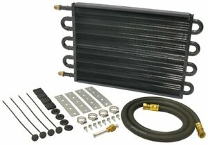 Derale 13304 17 1 2 X 10 1 4 X 3 4 In Automatic Trans Fluid Cooler Kit