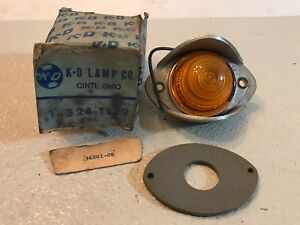 K D 524 1129 Chevy Gmc Ford Dodge Pickup Car Truck Amber Light Lamp Marker