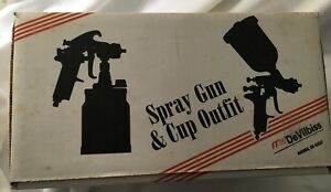 Devilbiss Jga654 Paint Spray Gun And Tgc Cup F 97 New In Box