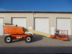 2011 Jlg 600s Aerial Manlift Boom Lift Boomlift Deutz Diesel Man Basket Genie
