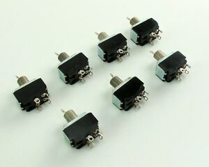 Lot Of 7 Cutler Hammer Toggle Switches
