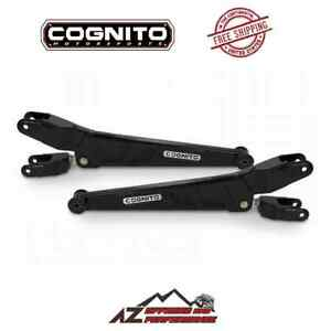 Cognito Caster Adjustable Radius Arm Kit For 2011 2020 Ford F250 F350 Super Duty
