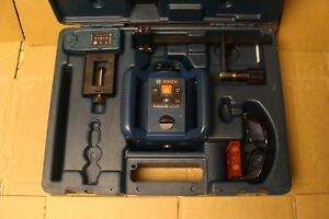 Bosch Self Leveling Rotary Laser Level Kit Grl240hv With Case