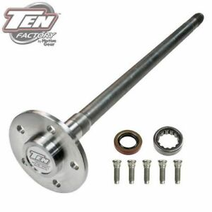 Ten Factory Mg25151 Performance Single Rear Axle 31 25 Long For Ford 9